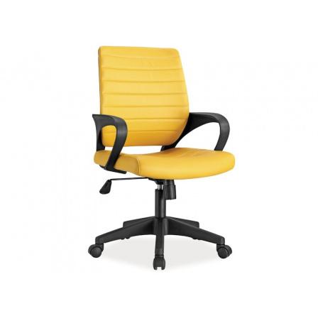 Kancelářské křeslo Q-051 Žluté
