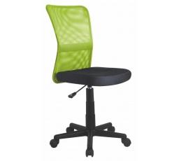 Dětská židle DINGO /černá+zelená