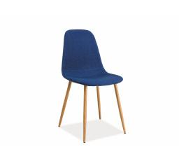 Jídelní židle FOX modrá