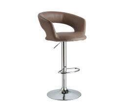 C-328  (KROC328CB) -Židle barová- eco  hnědá (S) - (K150-Z)
