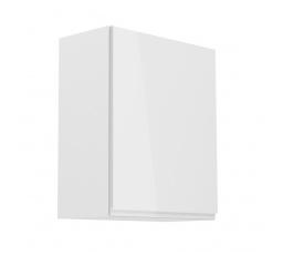 Kuchyňská horní skřínka - ASPEN G60 (P/L), bílý lesk