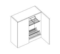 ROYAL  - horní skříňka 80cm G80C