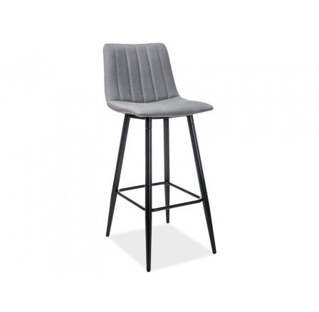 Barová židle ALAN H-1 šedá