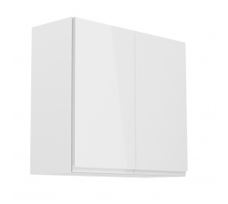 Kuchyňská horní skřínka - ASPEN G80, bílý lesk