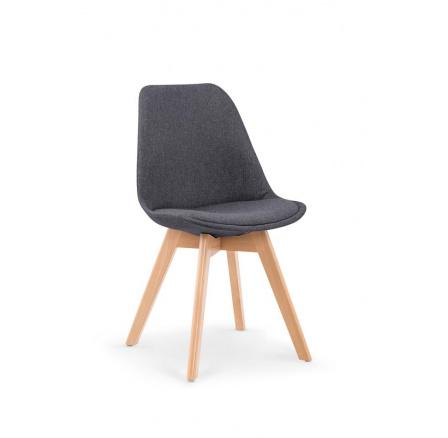 Jídelní židle K303 šedá