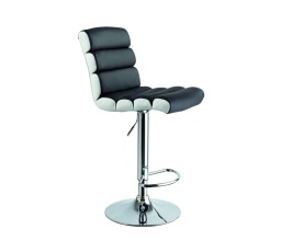 Barová židle Krokus C-617 černá / bílá
