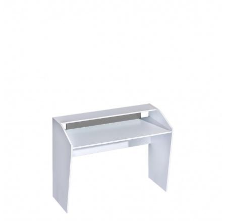 TRUFEL 9- Psací stůl 120  (Trafiko 9) - bílá/šedá (DO) (K150-Z)