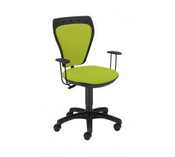 židle dětská MINISTYLE GTP zelená (M38) nový odstín