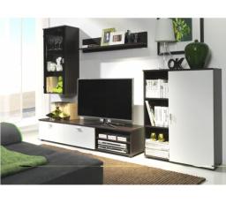 Obývací stěna DINO - bílá/milano