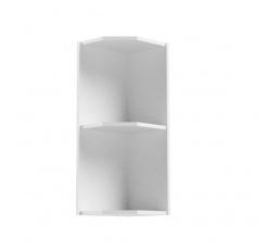 Kuchyňská horní skřínka - ASPEN G25PZ, bílý lesk