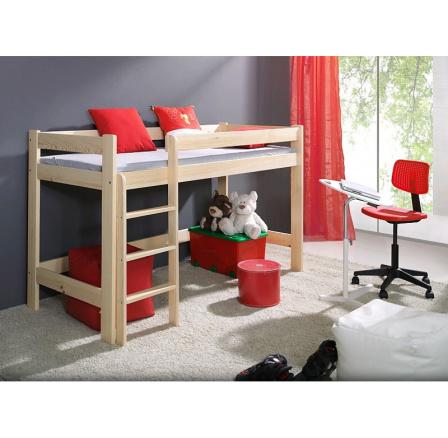 Dětská vyvýšená postel masiv LAURA