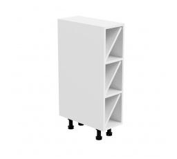 Kuchyňská dolní skřínka - ASPEN D20W, bílý lesk