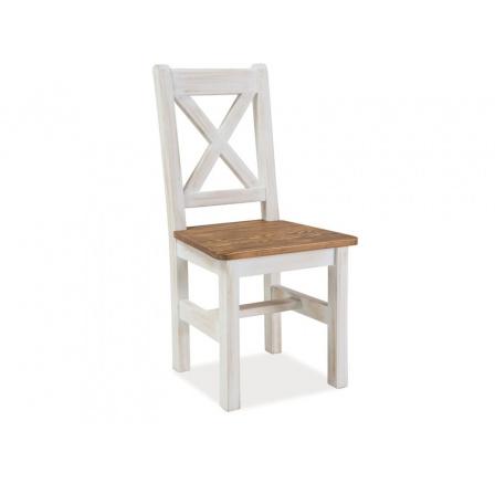 Jídelní židle POPRAD, hnědá/sosna patina