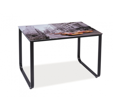 Jídelní stůl TAXI NEW YORK, 110x70 cm