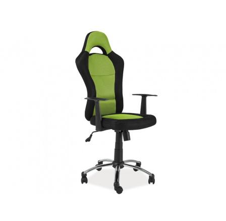 Kancelářské křeslo Q-039/černá,zelená
