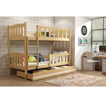 Patrová postel Kuba borovice