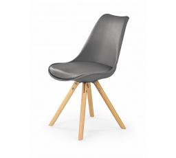 Jídelní židle K-201, Šedá