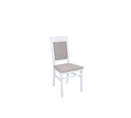 Židle ALLANIS bílá (TX057)/Adel 3 taupe