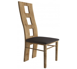 Židle MONTANA KRZ5, Dub Lefkas+ Smooth Grey