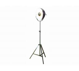 lampa stojící TS-082013F chrom/ bílá CH13