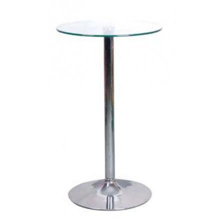 Barový stůl B-103 bílý