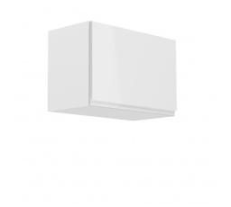 Kuchyňská horní skřínka - ASPEN G60K, bílý lesk