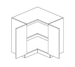 ROYAL  - rohová dolní skříňka 90cm D90N