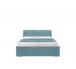 Čalouněná postel KATE FUTON 140x200, modrá