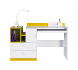 Psací stůl MOBI MO11 žlutý
