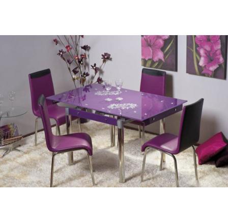 Jídelní stůl GD-082, fialový