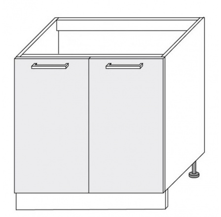 PLATINUM - dolní skříňka  80cm D8z/80