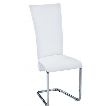 Jídelní židle F-245 bílá