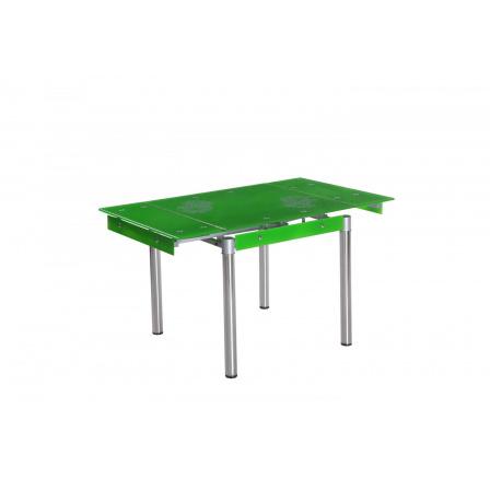 Jídelní stůl GD-082 rozkládací, zelený