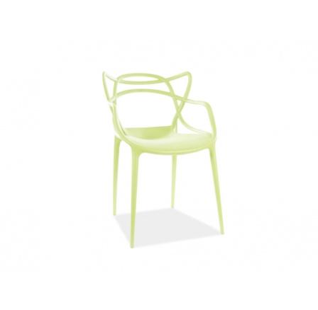 Jídelní židle TOBY zelená