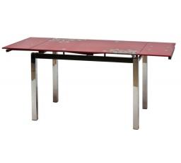 Jídelní stůl GD-017, červený