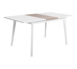 stůl  FARIO bílá alpská/dub sonoma