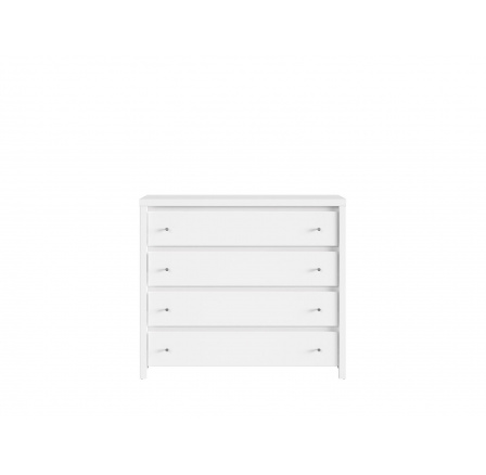 KASPIAN (ÚCHYT stříbrný) KOM4S bílá mat/bílá mat (verze D)