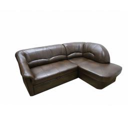 """ZEUS (YARDEK) - PRAVÁ sedací souprava kůže ANTYK S50 kolekce """"B"""" (Z) (PY) (K250-Z)"""