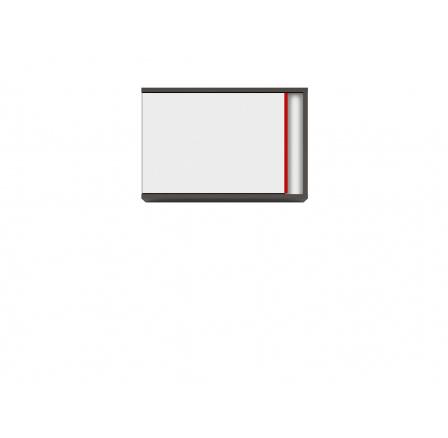 GRAPHIC (S343) SFW1DL/B šedý wolfram/bílá/červená