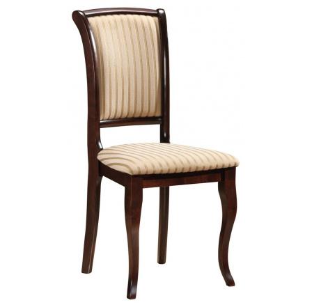 Jídelní židle MN-SC, Tm. Ořech/T19
