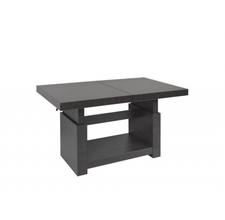 stolek HEZE MAX wenge (rozklad: 220 cm délka - 80,5 cm výška)
