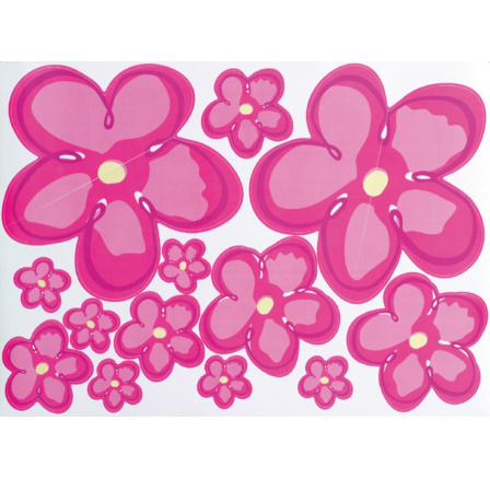 RINGO - nálepka květiny