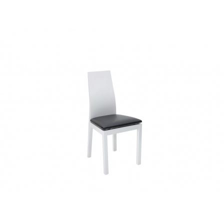 AKRT  židle bílá  TX057/TK1082 ekokůže