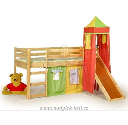 Dětská vyvýšená postel Flo