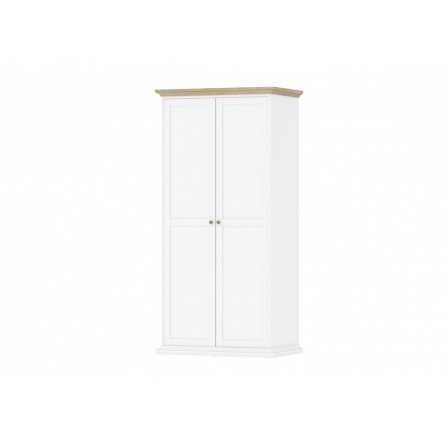 Skříň Provence 352 bílá/dub