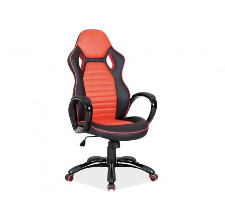 Kancelářské křeslo Q-105 /černá, oranžová