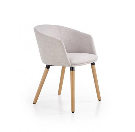 Jídelní židle K266 šedá