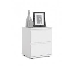 Noční stolek Nibby 092 bílý