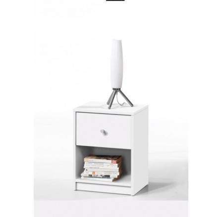 Noční stolek May bílá