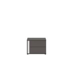 Noční stolek GRAPHIC KOM2SP/C šedý wolfram